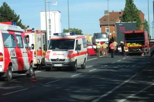 Schwerer Verkehrsunfall auf der Nordtangente Würzburg